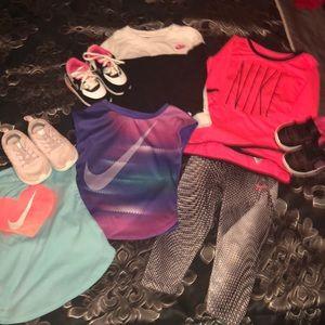 24 months girl Nike bundle